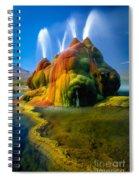 Fly Geyser Travertine Spiral Notebook