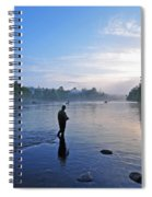 Flyfishing In Maine Spiral Notebook