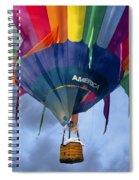 Flyin The Coop II Spiral Notebook