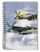 Flying Brothers Spiral Notebook