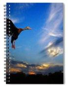Flying Duck Spiral Notebook
