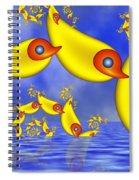 Jumping Fantasy Animals Spiral Notebook