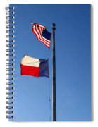 Flying Flags Spiral Notebook