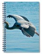 Flying Heron Spiral Notebook