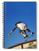Flying High - Action Spiral Notebook
