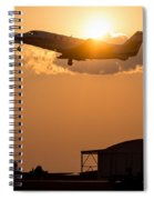 Flying Home Spiral Notebook