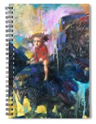 Flying In My Dreams Spiral Notebook