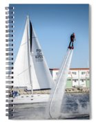 Flying In The Water Spiral Notebook