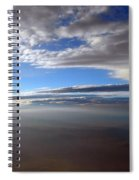 Flying Over Southern California Spiral Notebook