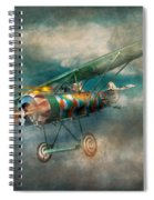 Flying Pig - Acts Of A Pig Spiral Notebook