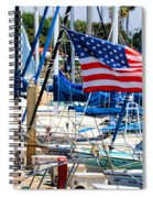 Flying Proud By Diana Sainz Spiral Notebook