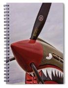 Flying Tiger P-40 Spiral Notebook