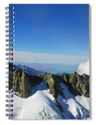 Flying To Fox Glacier #2 Spiral Notebook