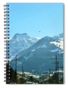 The Way To The Alps Spiral Notebook