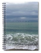 Flying Weather Spiral Notebook