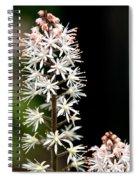 Foam Flower Spiral Notebook
