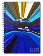 Focus On Blue Spiral Notebook