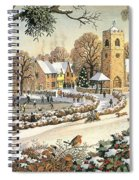 Focus On Christmas Time Spiral Notebook