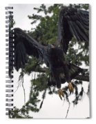 Focused On Prey Spiral Notebook