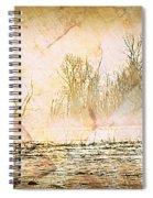 Fog Abstract 4 Spiral Notebook
