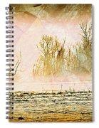 Fog Abstract 5 Spiral Notebook