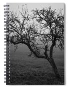 Fog And Solitude Spiral Notebook