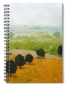 Fog Lifting Fast Spiral Notebook