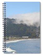 Fog On Pedro Point Spiral Notebook