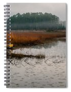 Fog On The Lake Spiral Notebook