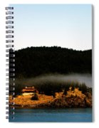 Fog Rolling By Spiral Notebook