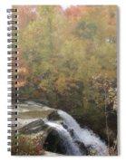 Foggy Brandywine Falls Spiral Notebook