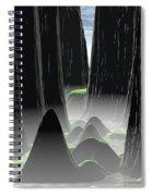 Foggy Canyon Pass Spiral Notebook