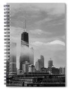 Foggy City Spiral Notebook
