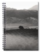 Foggy Countryside Spiral Notebook