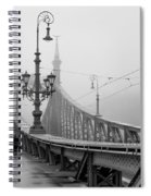 Foggy Day In Budapest Spiral Notebook