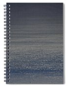 Foggy Day Over The Pacific Ocean Spiral Notebook