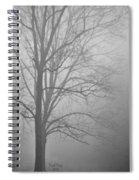 Foggy Days Spiral Notebook