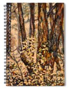 Foggy Forest Edge Spiral Notebook