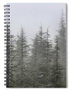 Foggy Forest Retro Series. Spiral Notebook