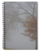 Foggy Lake View Spiral Notebook