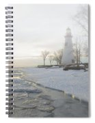 Foggy Marblehead Spiral Notebook