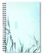 Foggy  Marsh Mornng Spiral Notebook