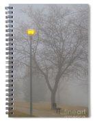 Foggy Morning   Spiral Notebook