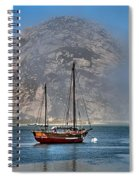 Foggy Morrow Bay Spiral Notebook