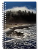 Foggy Pacific Reflections Spiral Notebook