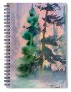 Foggy Patch Spiral Notebook