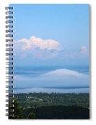 Foggy Porcupines Color Spiral Notebook
