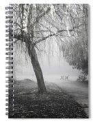 Foggy Willow Spiral Notebook