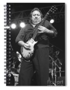 Foghat Guitarist Rod Price Spiral Notebook