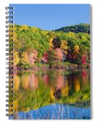 Foilage In The Fall Spiral Notebook